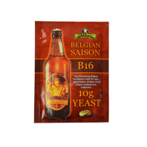 Пивные дрожжи Bulldog belgian saison B16 (10 грамм)