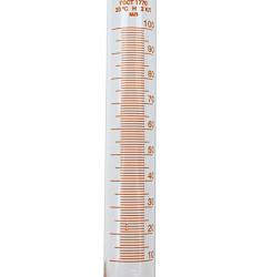 Стеклянный мерный цилиндр 100 мл