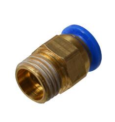 Быстросъемное соединение с наружной резьбой 1/4 под шланг 8 мм