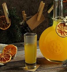 Настойка лимон с кофе