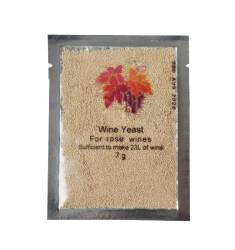 Винные дрожжи Yeast for rose wines (7 грамм)