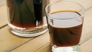 """Настойка на кофе """"Кофейный курант"""""""