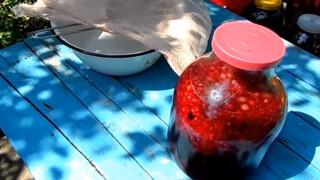Домашняя ягодная наливка