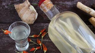 Рецепт домашней хреновухи (сушенный хрен)
