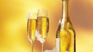 Домашнее шампанское из листьев черной смородины