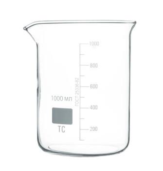 Низкий мерный стакан 1000 мл