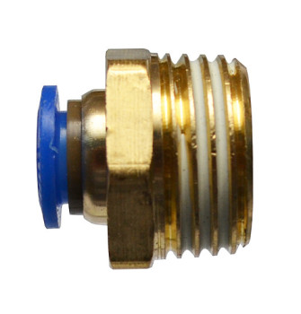 Быстросъемное соединение с наружной резьбой 1/2 под шланг 8 мм