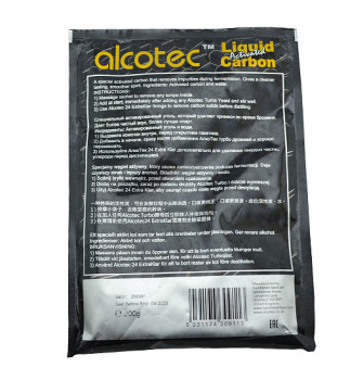 Жидкий активированный уголь Alcotec Liquid Carbon
