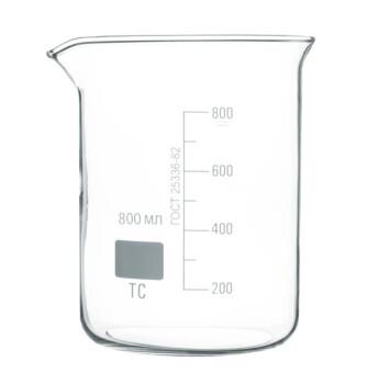 Низкий мерный стакан 800 мл