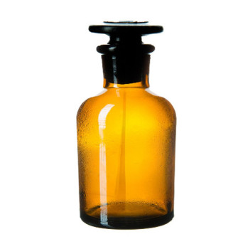Склянка для реактивов 500 мл (темное стекло)
