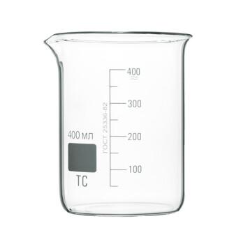 Высокий мерный стакан 400 мл