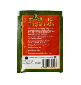 Пивные дрожжи Bulldog english ale B4 (10 грамм)