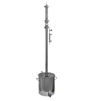 Ректификационная колонна Алкофан Стандарт с кубом 36л без сантехкомплекта