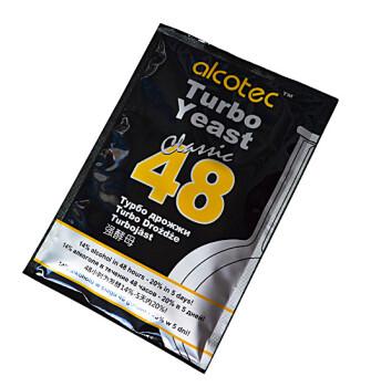 Спиртовые дрожжи Alcotec 48 Turbo Classic
