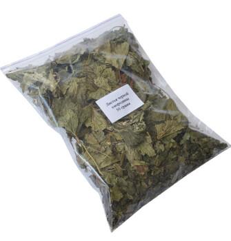 Листья черной смородины 50 грамм
