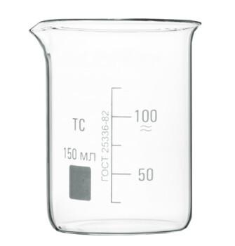 Низкий мерный стакан 150 мл
