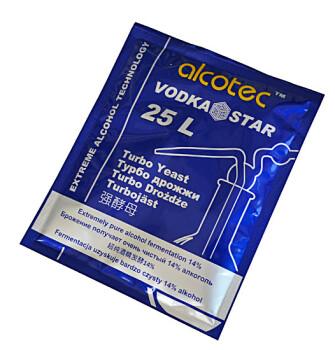 Спиртовые дрожжи Alcotec Vodka Star