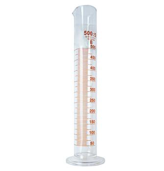 Стеклянный мерный цилиндр 500 мл