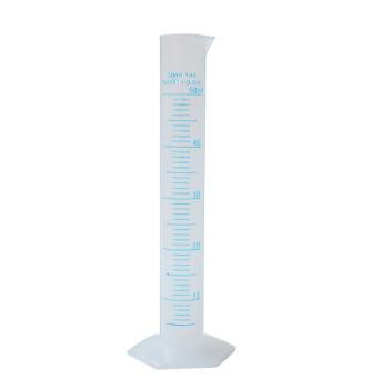 Цилиндр мерный пластиковый 50 мл