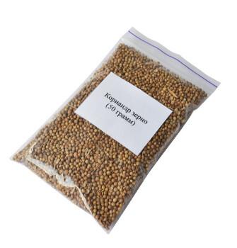 Кориандр (зерно) 50 грамм