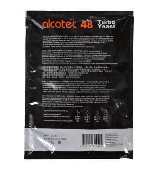 Спиртовые дрожжи Alcotec 48 Turbo Carbon