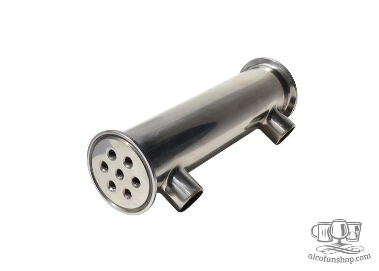 Кожухотрубный дефлегматор для самогонного аппарата купить самогонный апарат купить в украине
