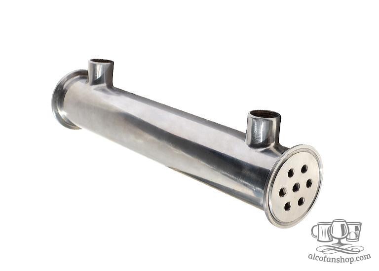 Кожухотрубный холодильник для самогонного аппарата из меди самогонный аппарат с сухопарниками купить в челябинске